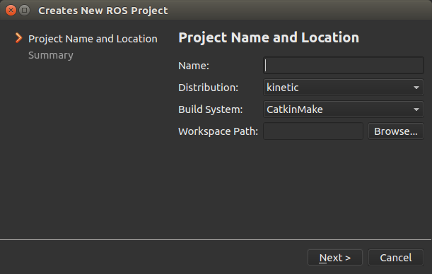 How to Import a ROS Workspace — ROS Qt Creator Plug-in